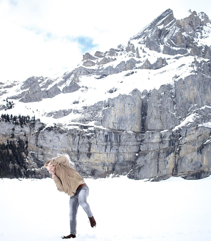 Berge/Schneeball