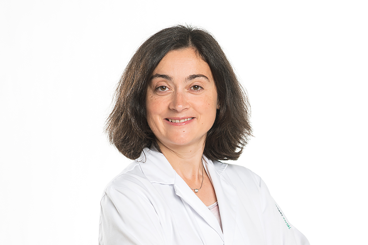 Erste Stern-Gattiker-Preisträgerin: Ärztin Annalisa Berzigotti. Bild: zvg