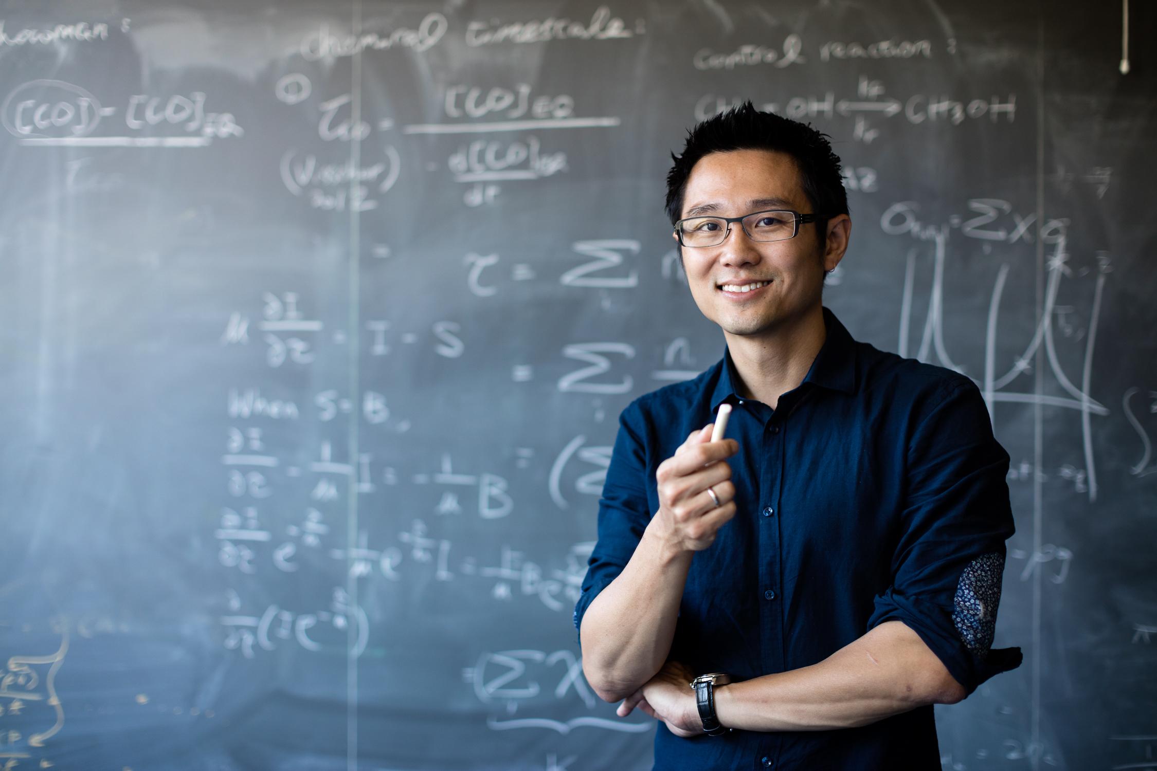 Prof. Dr. Kevin Heng. © Alessandro Della Bella.