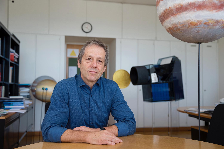 Prof. Dr. Willy Benz, Hauptverantwortlicher der CHEOPS-Mission. © Alessandro Della Bella