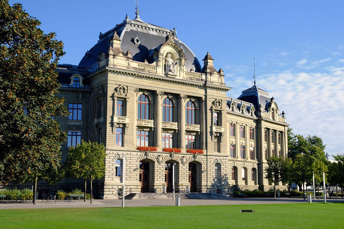 Hauptgebäude der Universität Bern. Bild: Universität Bern / Vera Knöpfel