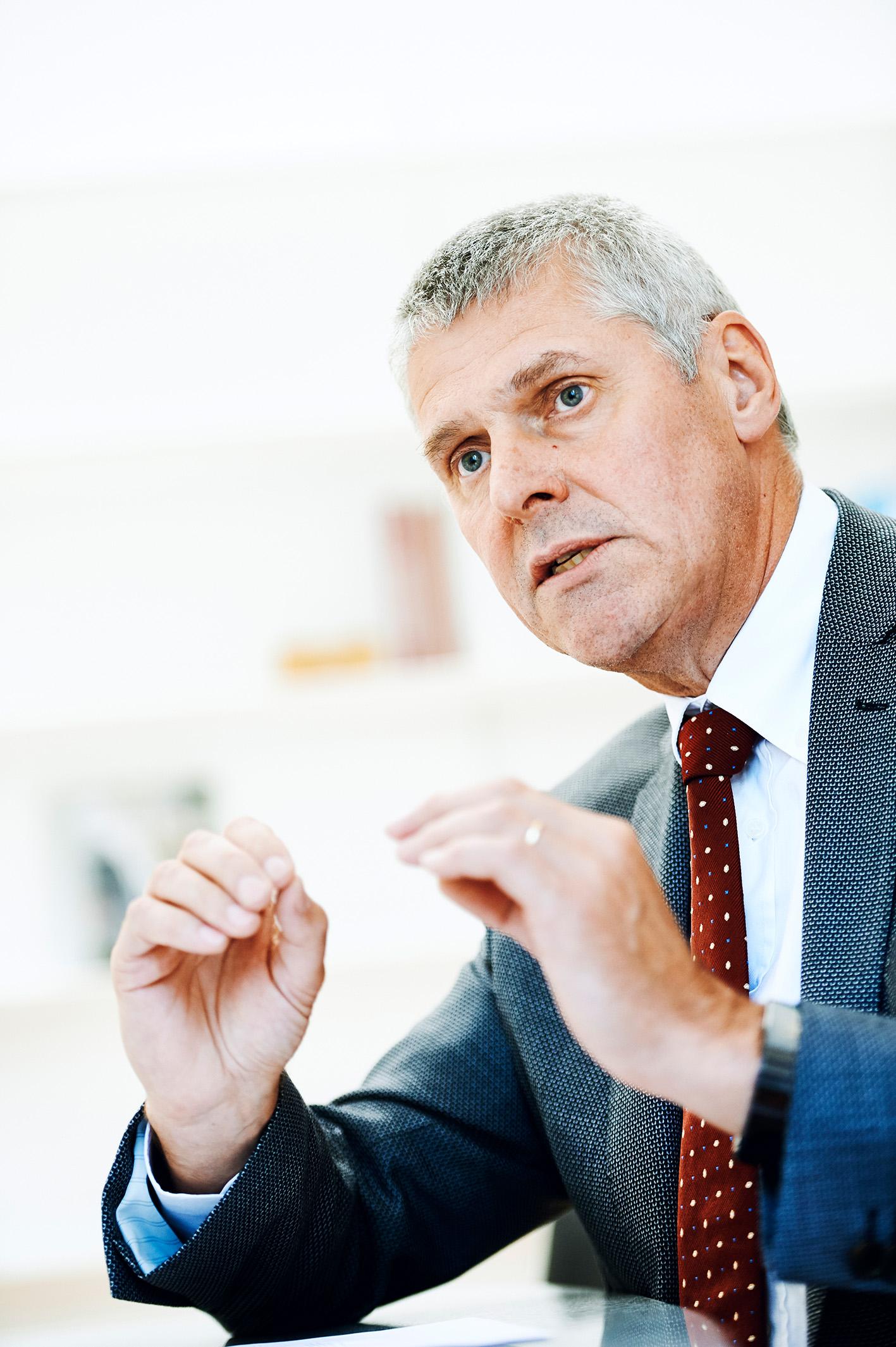 Prof. Dr. Christian Leumann, Rektor der Universität Bern © Universität Bern / Manu Friederich
