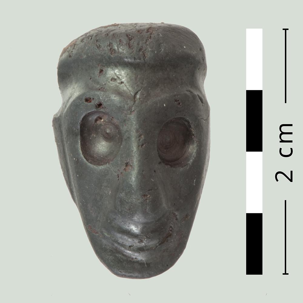Gesichtsdarstellung einer Kompositfigur. © Institut für Archäologische Wissenschaften der Universität Bern, Projekt Sirkeli Höyük