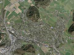 Ittigen bei Bern gehört zu den «Prospering Residential Economy Towns», die sich hinsichtlich Vollzeitarbeitsplätzen und Bevölkerungszahl besonders gut entwickeln. © Bundesamt für Landestopografie