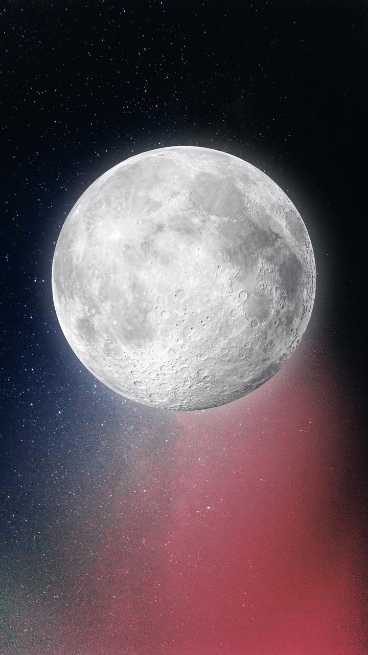 Die Kommunikation der Jubiläumsfeierlichkeiten richtet sich neben dem wissenschaftlich interessierten Publikum auch an die allgemeine Berner Bevölkerung. Denn als «Buzz» Aldrin 1969 das Sonnenwindsegel der Universität Bern in den Boden des Mondes steckte, liess er auch die Bernerinnen und Berner ein Teil der Apollo 11-Mission werden. Diesem Umstand trägt die Universität Bern in den Kommunikationsmassnahmen Rechnung, indem der Mond im Kernbild nah und leuchtend gezeigt wird.   Grafik: Universität Bern