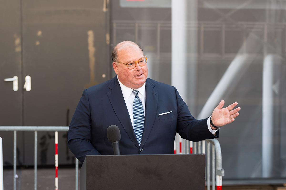 Edward T. McMullen, Botschafter der USA in der Schweiz. © Universität Bern, Bild: Ramon Lehmann