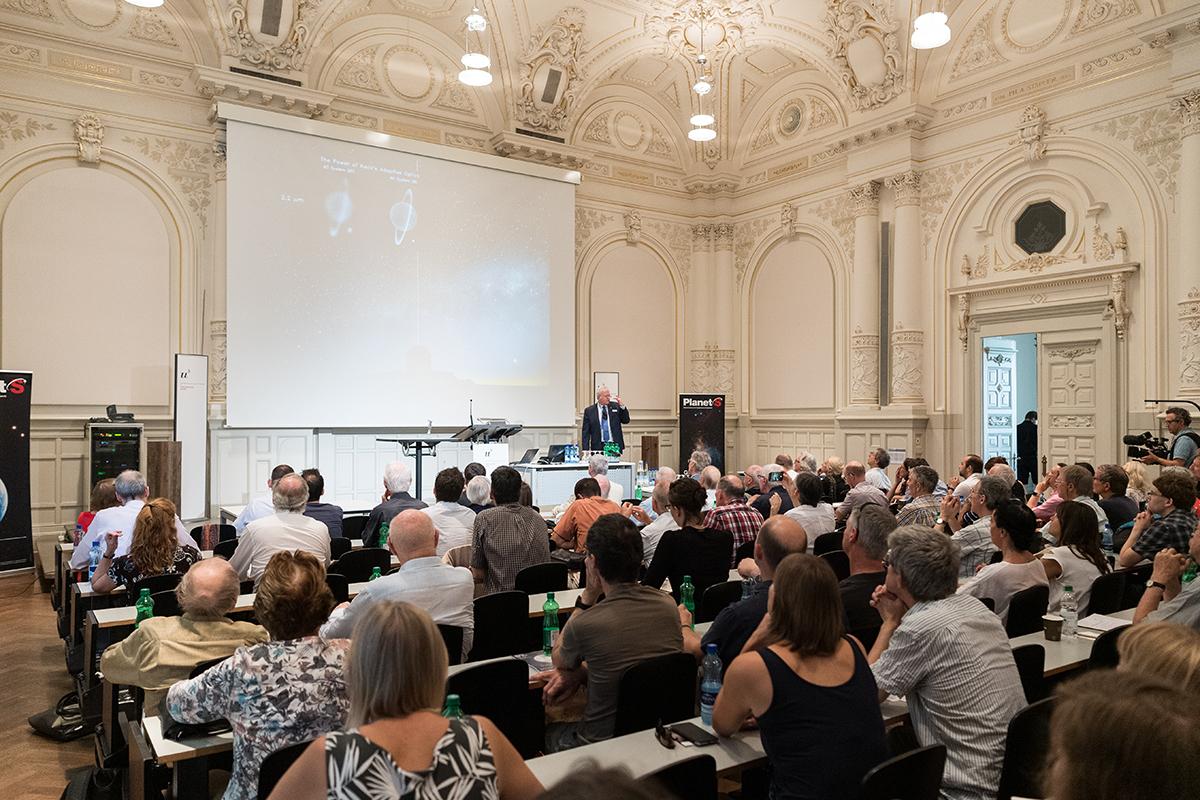 Nobelpreisträger Brian Schmidt. © Universität Bern, Bild: Ramon Lehmann