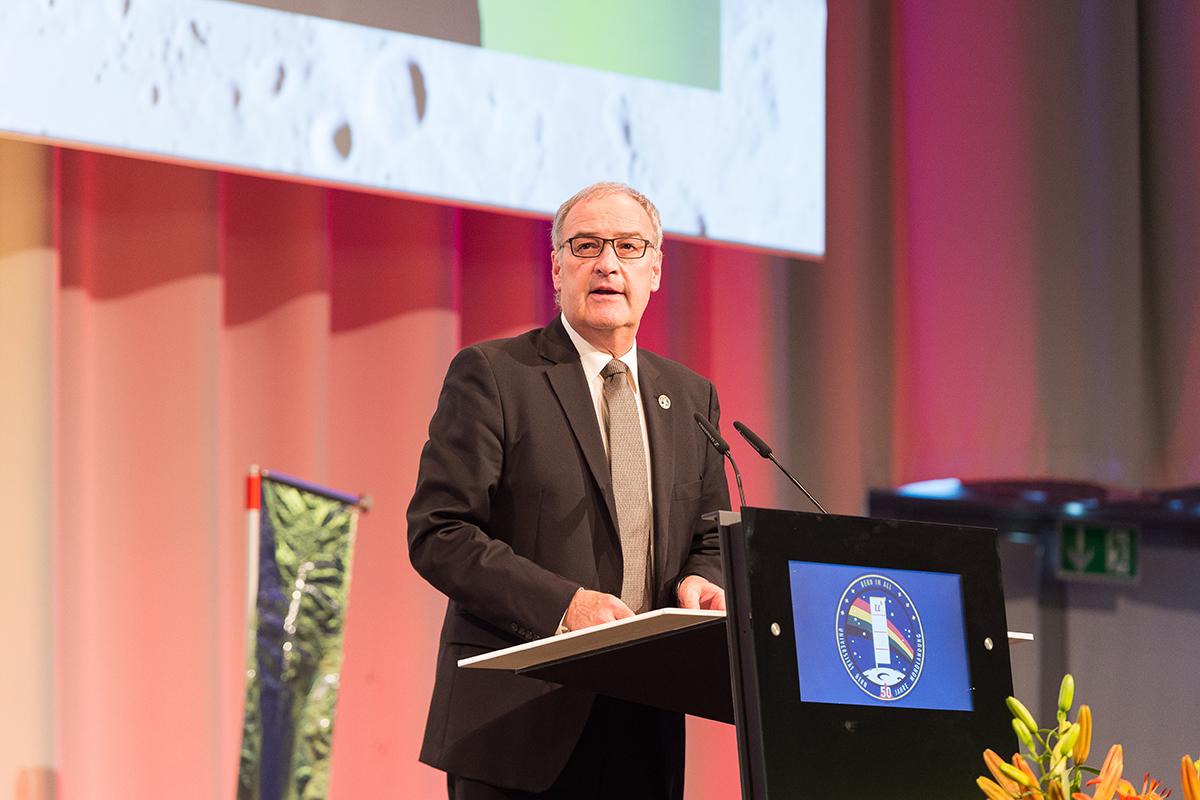Bild 20: Bundesrat Guy Parmelin. © Universität Bern, Bild: Ramon Lehmann