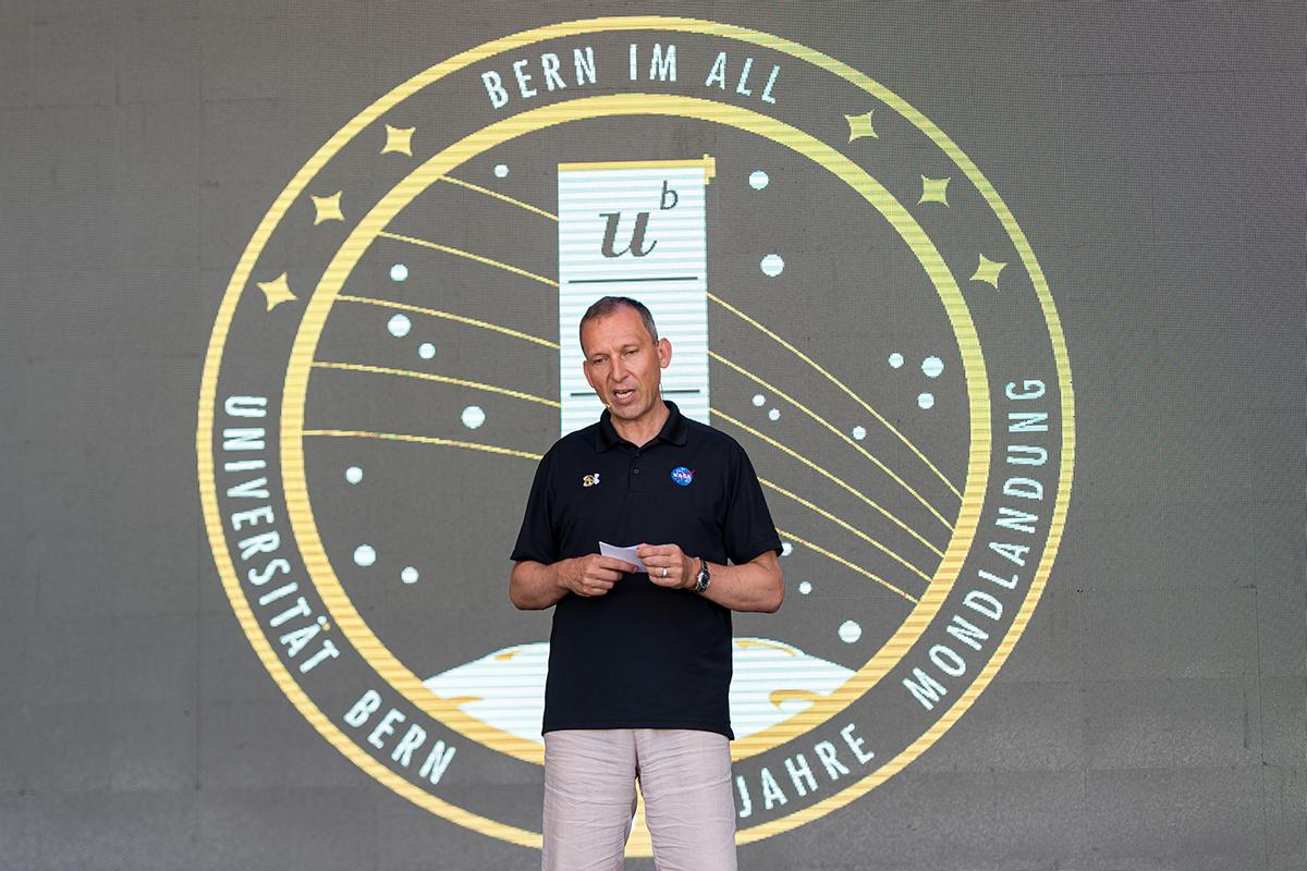 Bild 25: Thomas Zurbuchen, Wissenschaftsdirektor der NASA. © Universität Bern, Bild: Ramon Lehmann