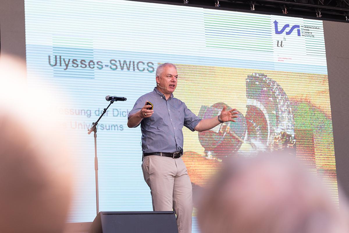 Bild 28: Rudolf Emanuel von Steiger, Direktor des ISSI.© Universität Bern, Bild: Ramon Lehmann