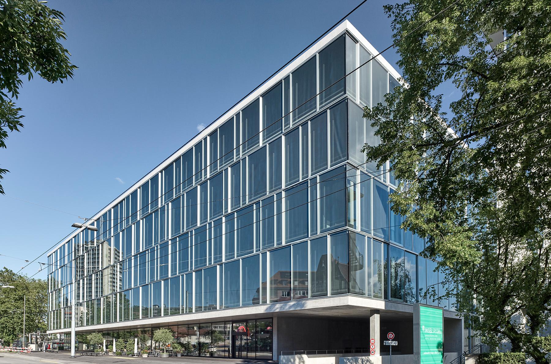 Das nationale Kompetenzzentrum für translationale Medizin und Unternehmertum sitem-insel.  Bild: sitem-insel