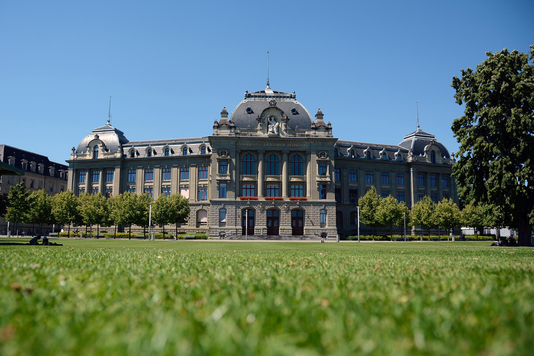 Das Hauptgebäude der Universität Bern. © Universität Bern