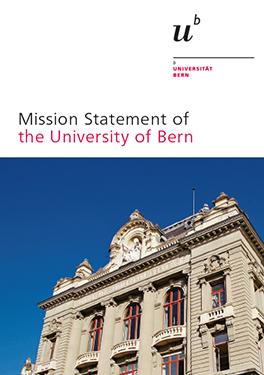 Leitbild der Universität Bern
