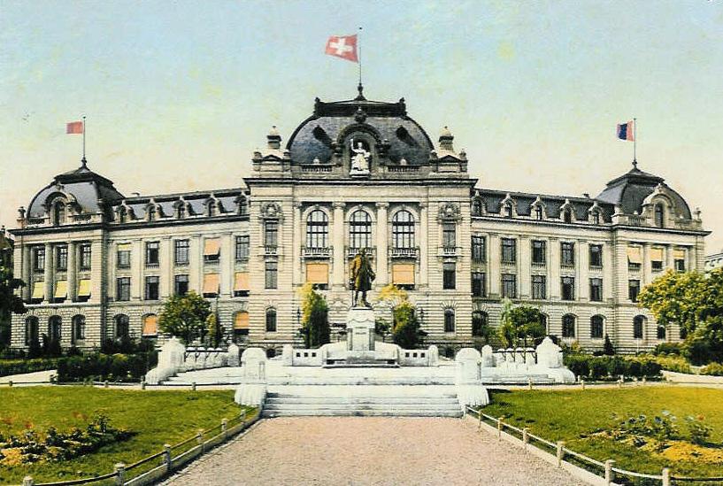 Hauptgebäude UniBE um 1909