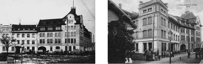 Schokoladefabrik Tobler Anfang 20. Jahrhundert