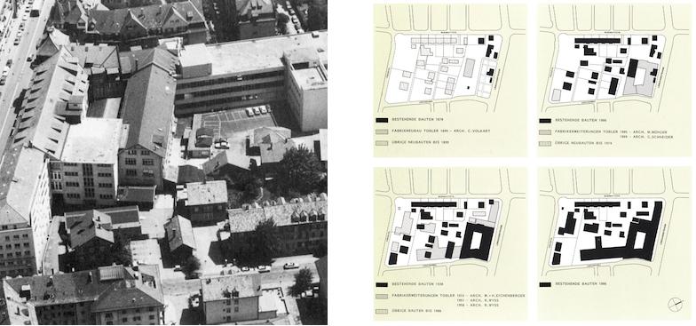 Luftbild und Araealplan