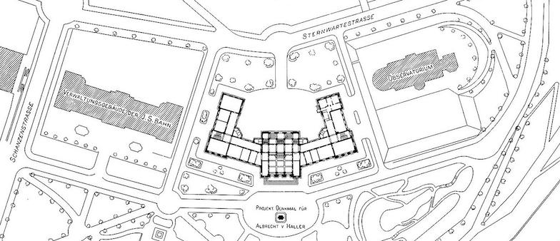 Plan Schanzenpromenade