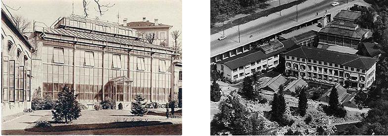 Kranzbauten spätes 19. Jahrhundert