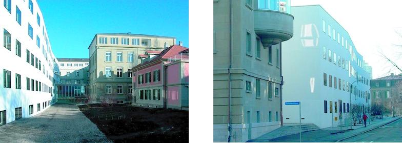 Gebäudekomplex UniS