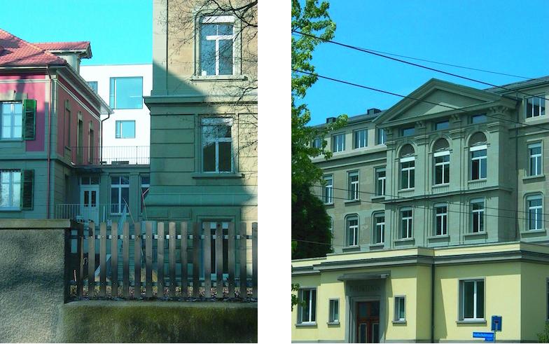 ehemaliges Direktionsgebäude und Polikliniktrakt