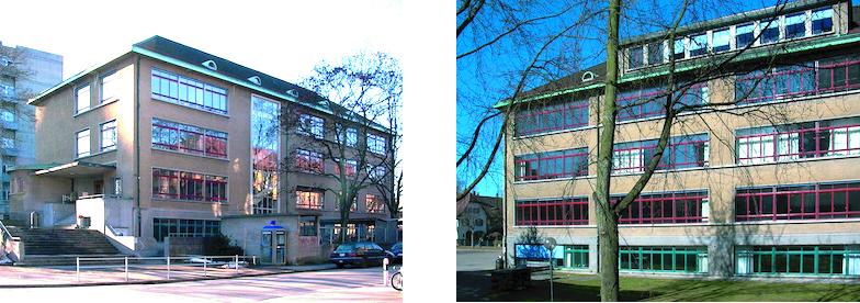 Gebäudeansicht Nord und Süd