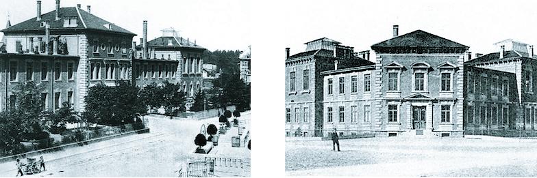 Bühlstrasse und Bühlplatz Anfang zwanzigstes Jahrhundert