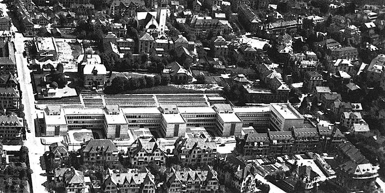 Luftbild des Muesmattfeldes