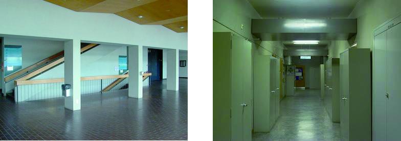 Foyer und Korridor Exakte Wissenschaften