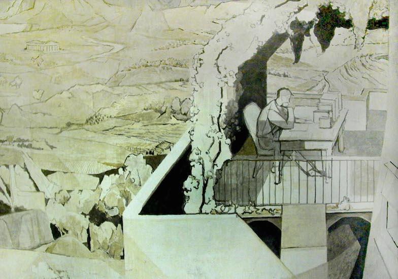 Fresko von Victor Surbek