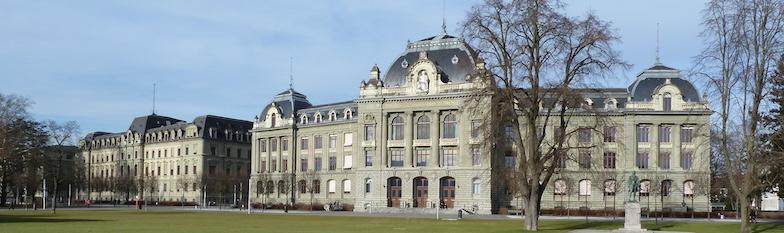 Die Universitätsbauten auf der Grossen Schanze