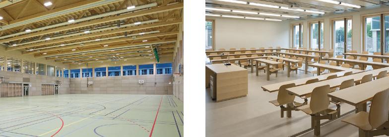 Dreifachsporthalle und Seminarraum
