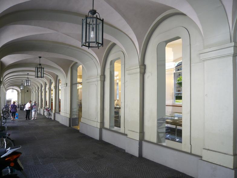 Münstergasse mit Einblick in die Lesbar