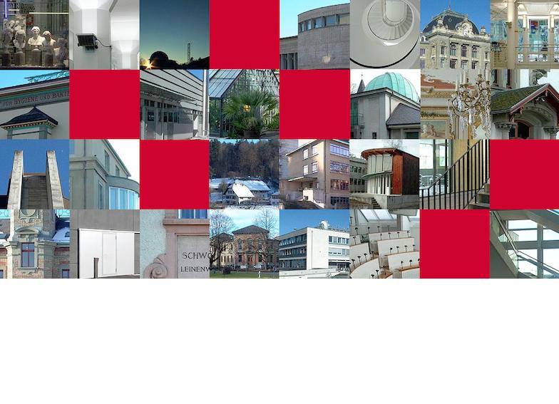 Bildicons der Universitätsbauten