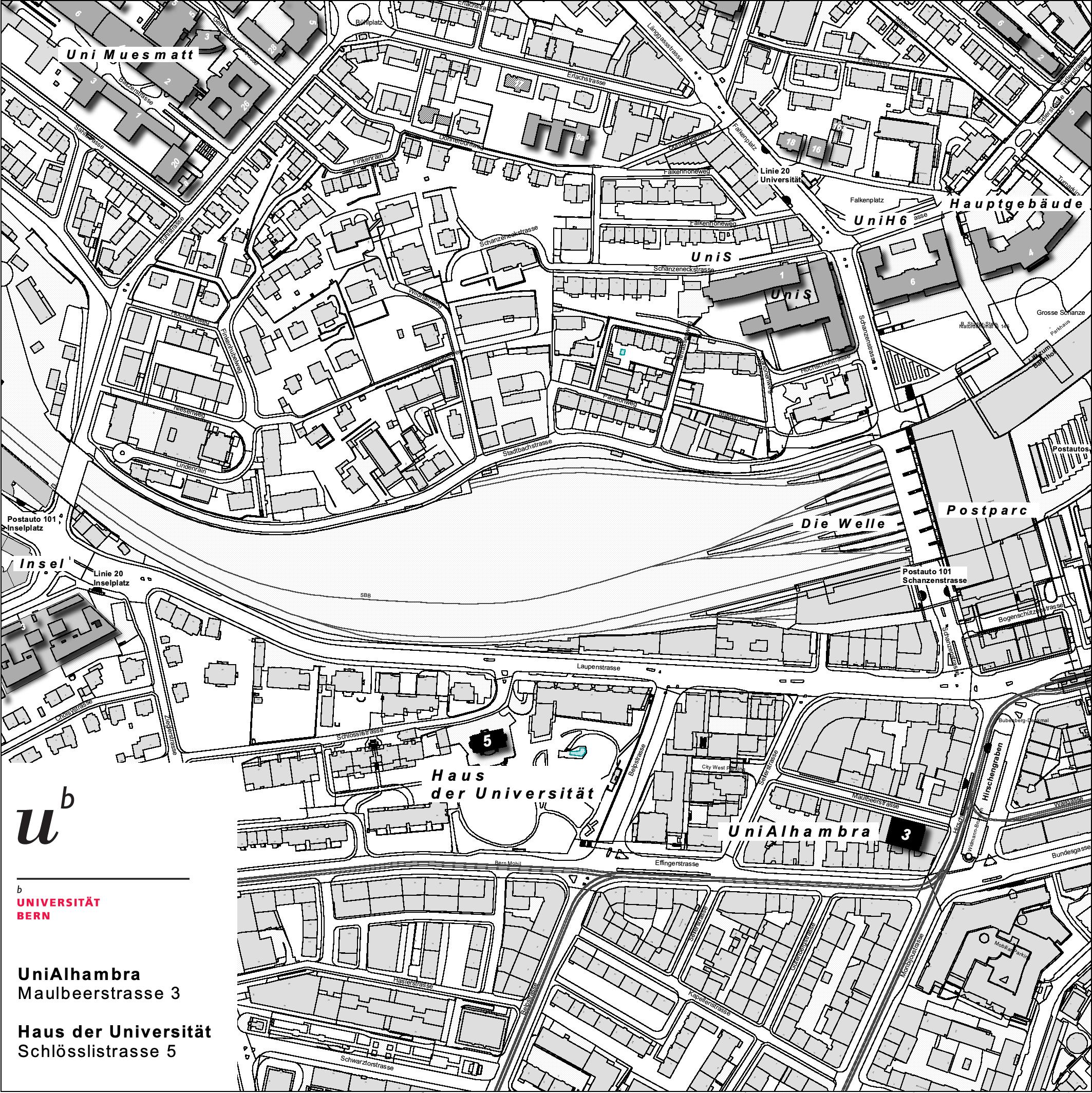 Quartierplan Altstadt